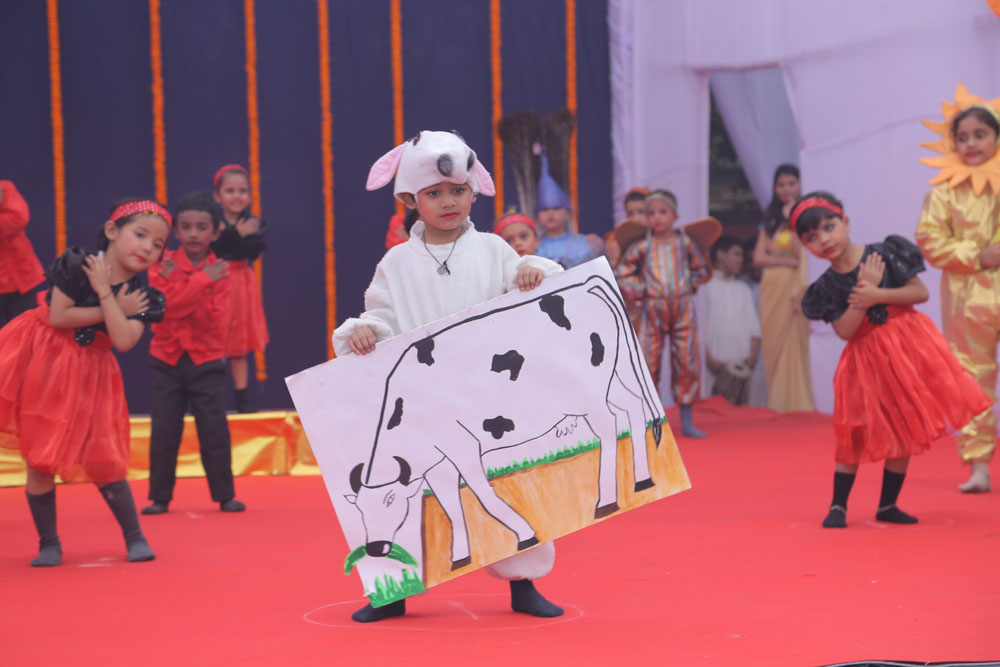 Performance by Nursery students
